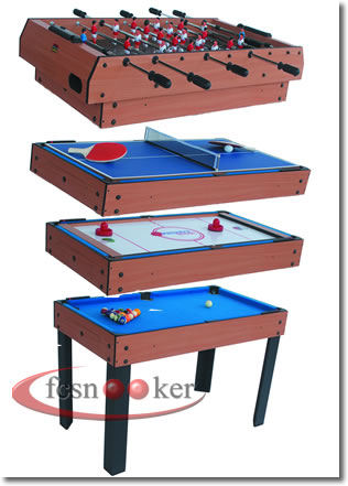 Wonderful M4B 1   Fcsnooker 4 In 1 Games Table