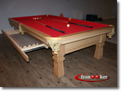 The U0027Classicu0027 American Pool Table   Available In 9 Foot Table Sizes Only