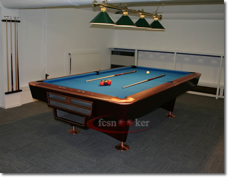 Welcome To Fcsnooker Newly Manufactured Slate Bed American Pool - 9 slate pool table