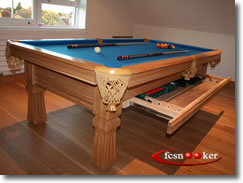 Welcome to fcsnooker newly manufactured slate bed - 8 foot pool table dimensions ...
