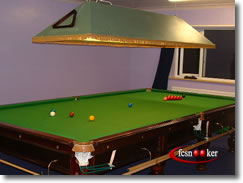 Fcsnooker - Ex&les of fcsnookeru0027s customeru0027s snooker and pool table lighting solutions mounted above table products & Fcsnooker - Examples of fcsnookeru0027s customeru0027s snooker and pool ...