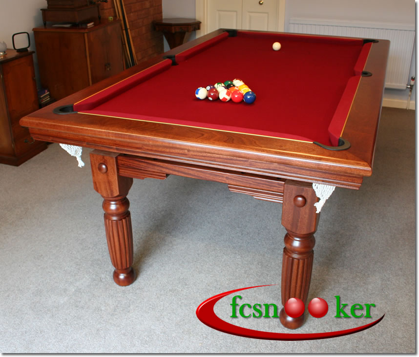 Fcsnooker Presents The Tournament And Classic Range Of Hand Made - English pool table