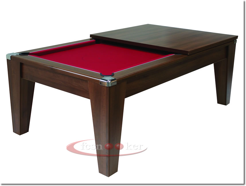Fcsnooker Presents The The Contemporary Tapered Leg Convertible - 7 foot pool table dining top