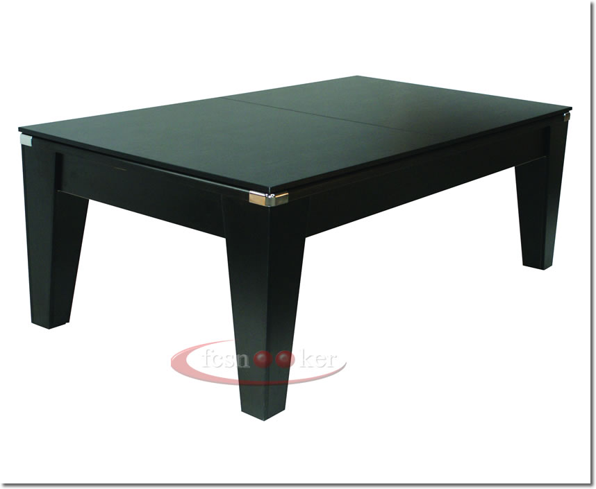 fcsnooker presents the the contemporary tapered leg convertible english pool dining table in. Black Bedroom Furniture Sets. Home Design Ideas