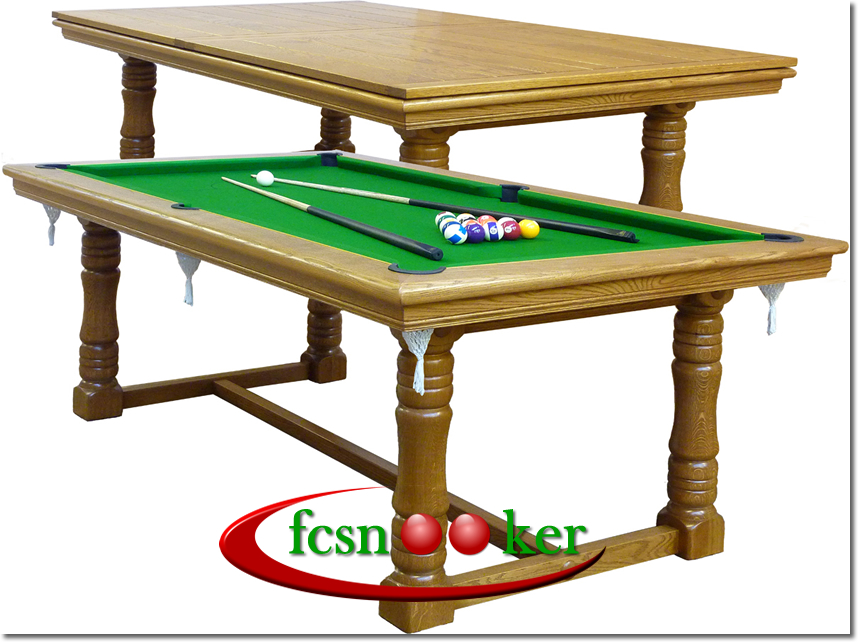 Fcsnooker Presents The Tournament Range Of Hand Made Convertible - Normal pool table size