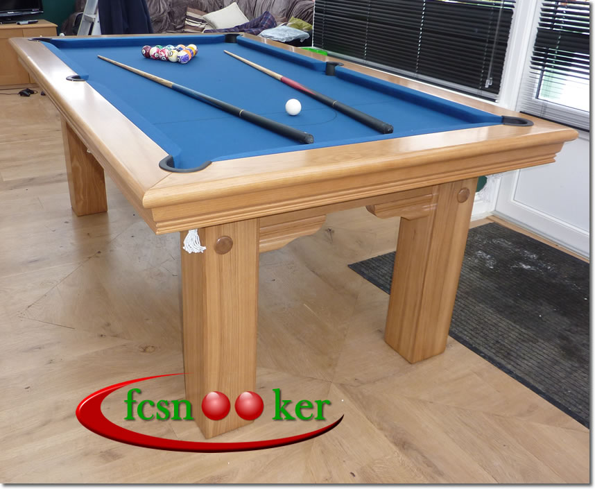 Pool Dining Table Uk Snooker Dining Table Diners Pool  : 7x4foottraditionaloakblue850dslogo from amlibgroup.com size 858 x 705 jpeg 107kB