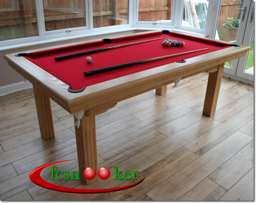 Fcsnooker Presents The Tournament And Classic Range Of Hand Made - Six foot pool table