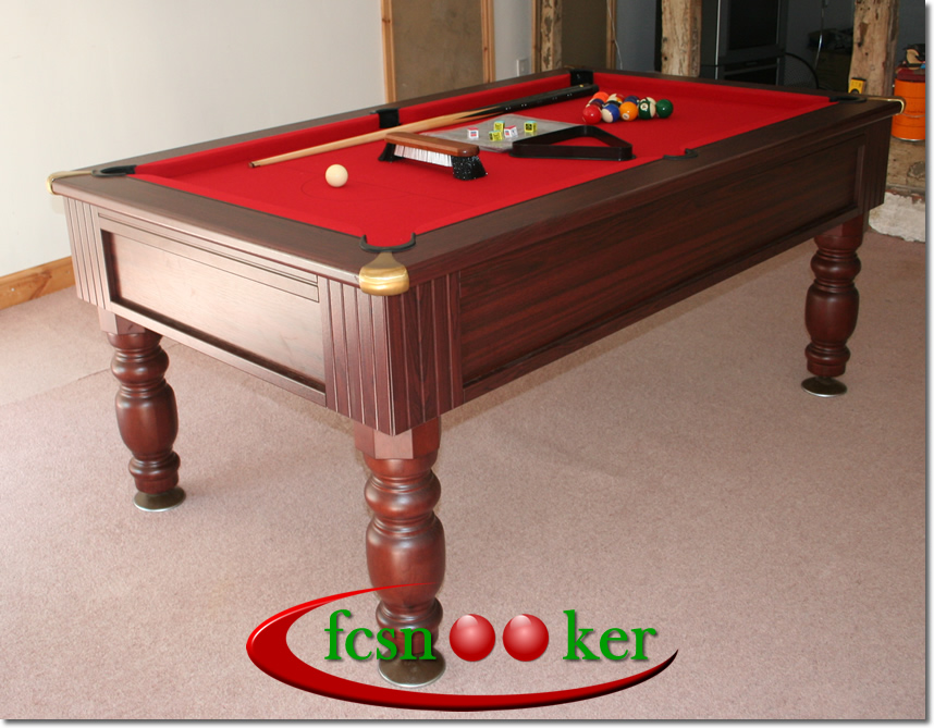 fcsnooker 39 s the regal freeplay english pool table available in 6 and 7 foot table sizes. Black Bedroom Furniture Sets. Home Design Ideas