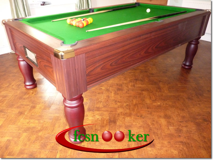 Fcsnooker 39 s the royal freeplay english pool table for 1 4 size snooker table