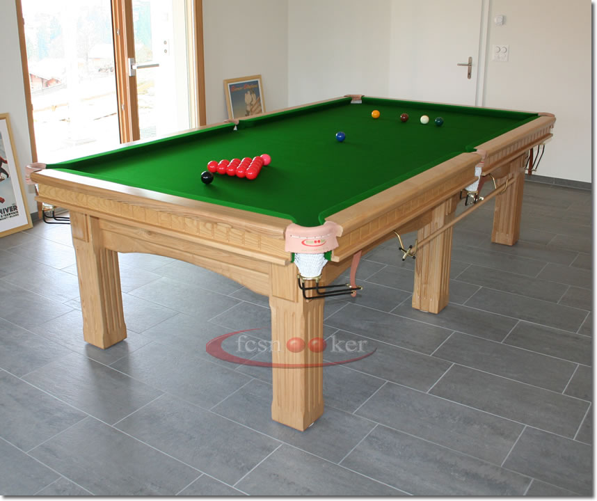Fcsnooker recently manufactured shipped and delivered snooker table installed in zweisimmen - Dining kers ...