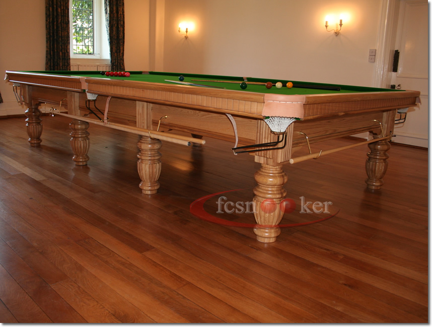 Fcsnooker recently manufactured shipped and delivered snooker table installed in the isle of - Dining kers ...