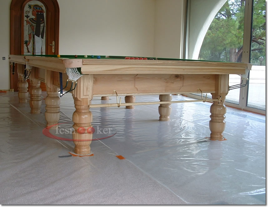 Fcsnooker recently manufactured shipped and delivered snooker table installed in cannes in france - Dining kers ...