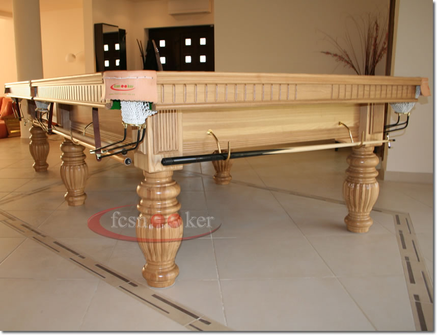 Fcsnooker recently manufactured shipped and delivered snooker table installed in timisoara in - Dining kers ...