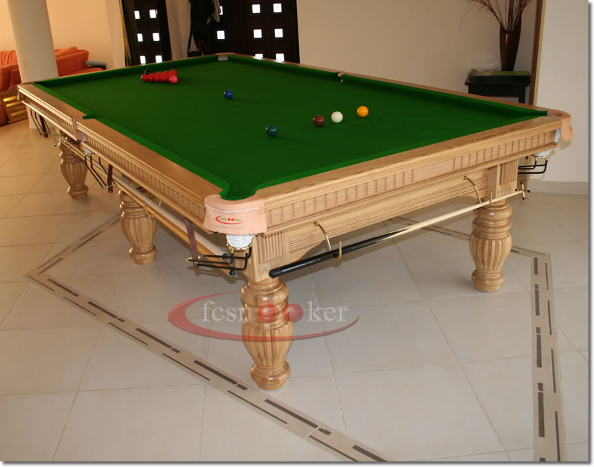 Fcsnooker recently manufactured shipped and delivered for 10 x 5 snooker table