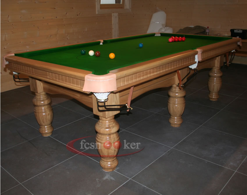 Fcsnooker recently manufactured shipped and delivered snooker table installed in les croset - Dining kers ...