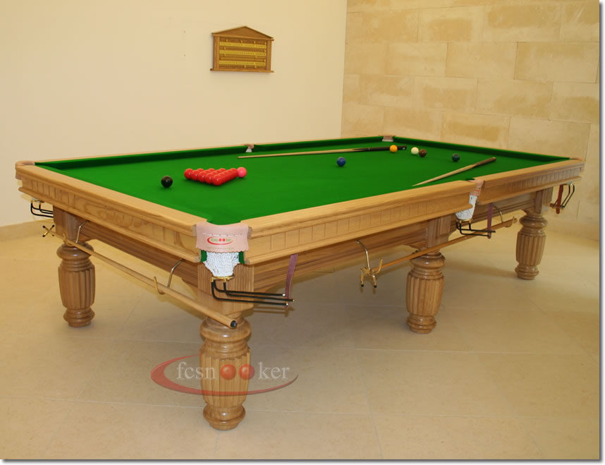 Fcsnooker recently manufactured shipped and delivered for 10 snooker table