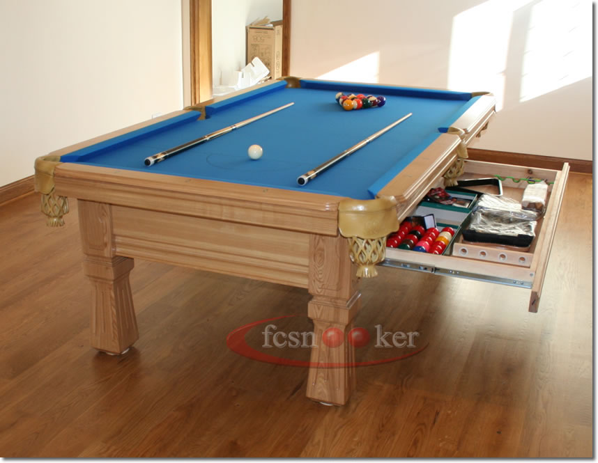 Welcome to fcsnooker recently installed american pool tables erected in customers premises - Dining kers ...