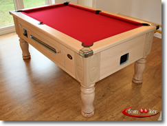 Total Weight Of 6 Foot X 3 Foot Coin Operated English Pool Table U003d 255  Kilograms