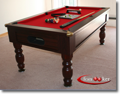Hardwood And Veneered Laminate English Pool Dining Tables. 7 Foot ...