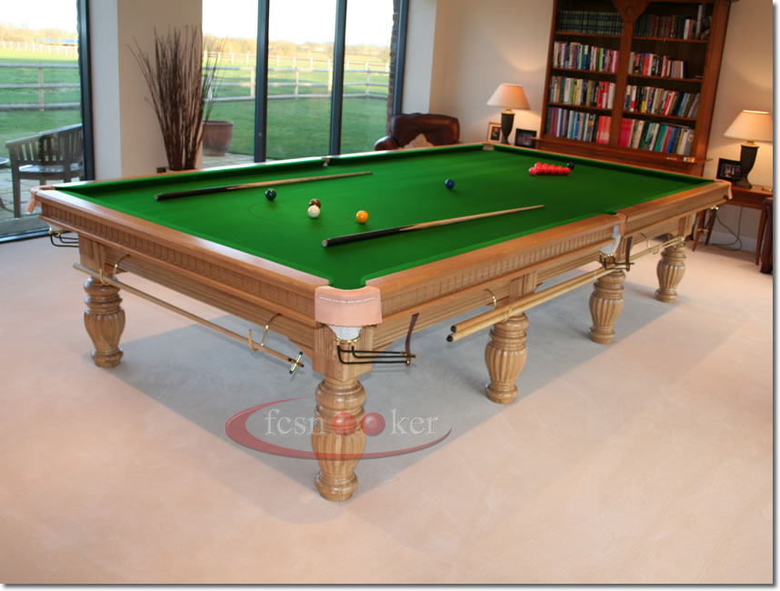 Attractive Click Here Or On The Picture Below To View The Product Description And  Pricing Of The Regal Snooker Table Manufactured From Solid Oak  Hardwoodsu003eu003eu003eu003eu003eu003eu003eu003eu003e