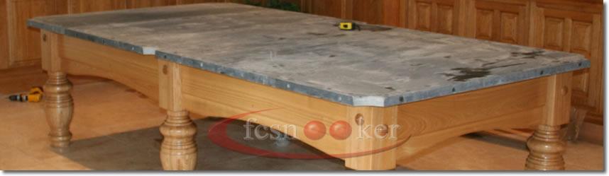 Merveilleux 9 Foot X 4.5 Foot Snooker Tables   5 X Sectional Slates