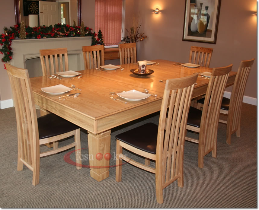 Fcsnooker examples of recently manufactured convertible snooker dining tables installed in - Dining kers ...