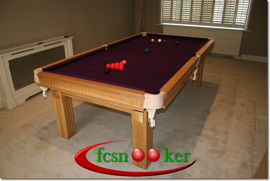 Fcsnooker presents the tournament range of hand made for Traditional dining table for 8