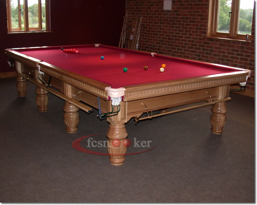 Fcsnooker presents the buckingham turned leg snooker for 10 snooker table