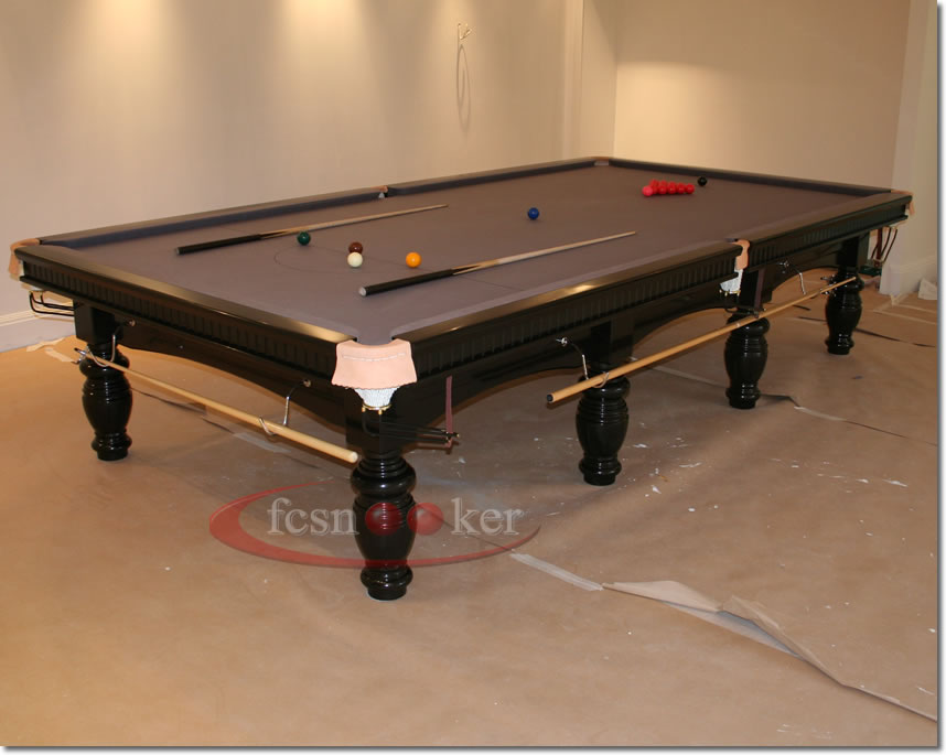 Fcsnooker presents the elite finished in black turned for 10 foot snooker table