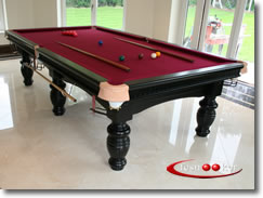 Fcsnooker Welcome To Fcsnooker Suppliers Of Quality Slate Bed - How big is a full size pool table