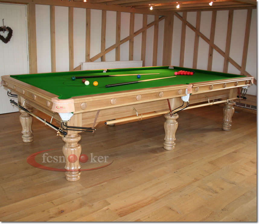 Fcsnooker presents the majestic turned leg snooker for 10 foot snooker table