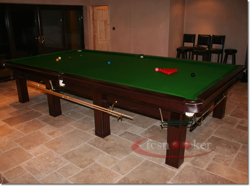 Fcsnooker presents the traditional square leg snooker for 10 ft table cloth