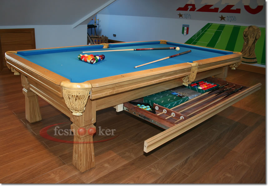 Welcome to fcsnooker newly manufactured slate bed american pool tables in different sizes - Pool table dimensions ...