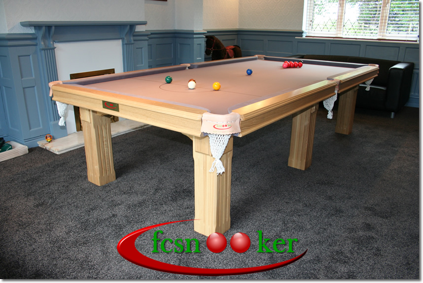 Fcsnooker Presents The Tournament Range Of Hand Made Convertible Snooker Dining Tables The Traditional Available In Mahogany Oak And Ash In 6 7 8 And 9 Foot Table Sizes